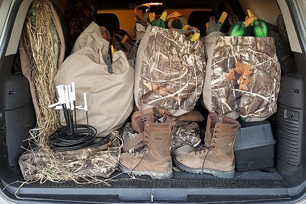 Waterfowling gear
